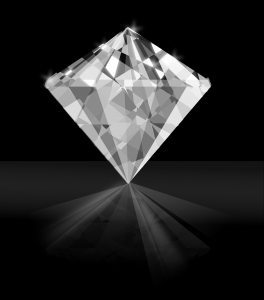 יהלום שקוף