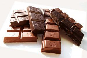 סוגים שונים של שוקולד