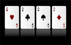 קלפים של אסים