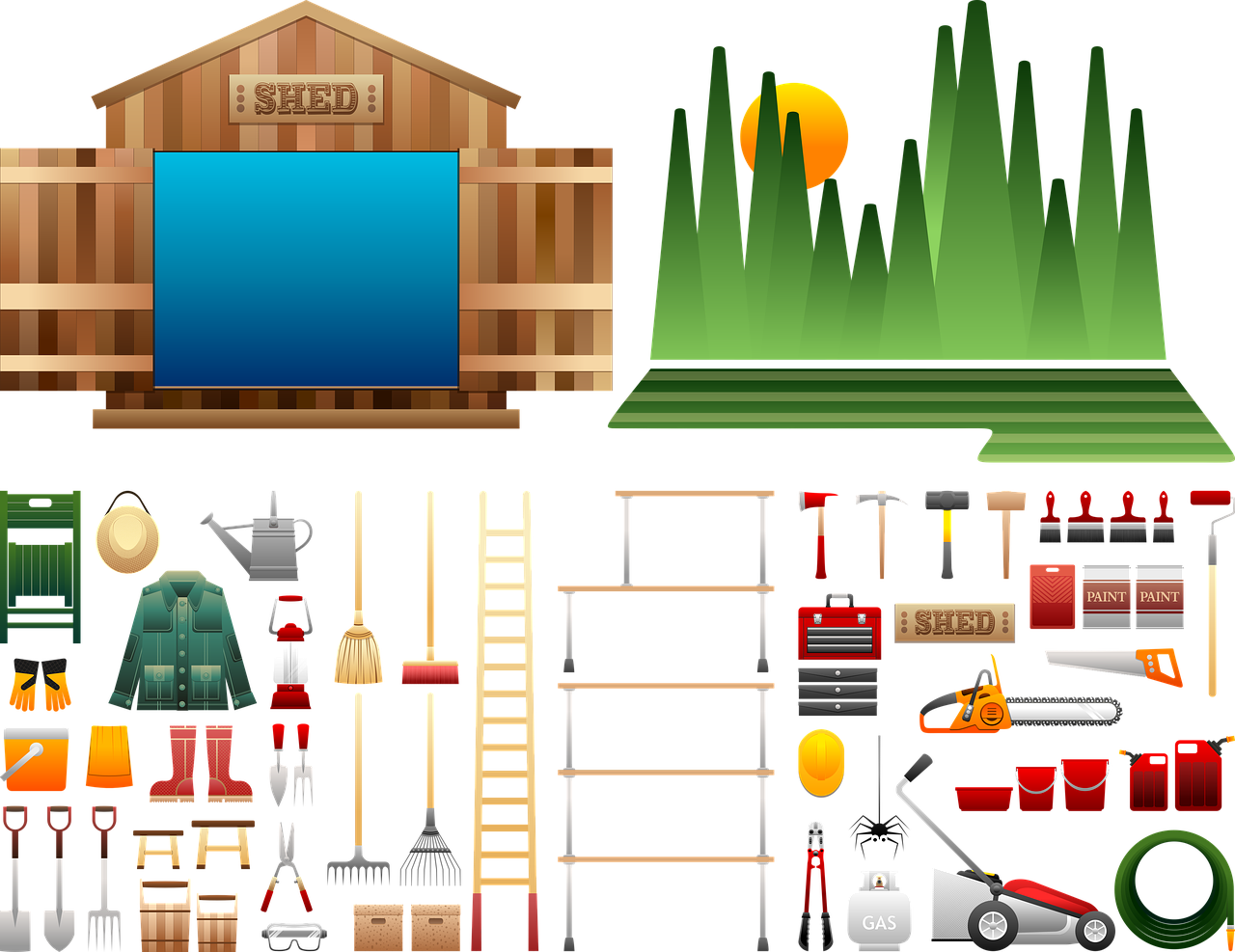 ציוד למחסן ומחסן