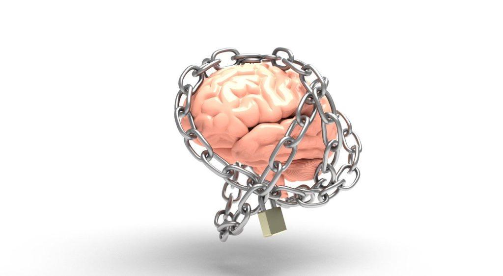מוח בתוך שרשרת